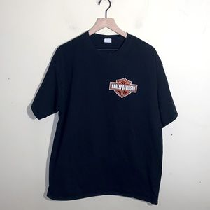 VNTG HARLEY DAVIDSON double sided graphic tee XL